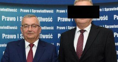 Były kandydat PiS-u na wójta Michałowic z zarzutami